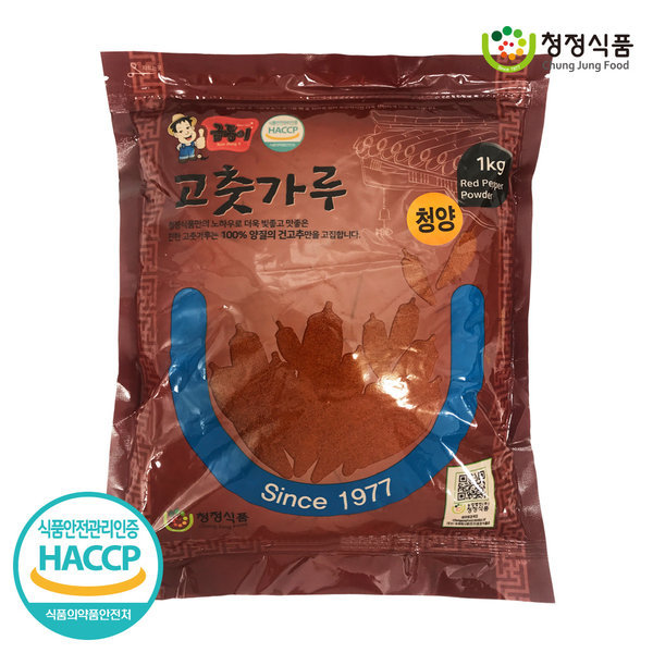청정식품 수입 고운 고춧가루 매운맛 1kg  CJA001-5 상품이미지