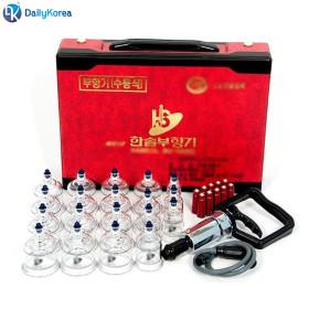 한솔부항기 19컵 (펌프포함) 지압봉 한의원 혈액순환