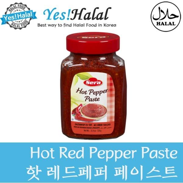 핫 레드페퍼 페이스트/Hot Red Pepper Paste (Halal) 상품이미지