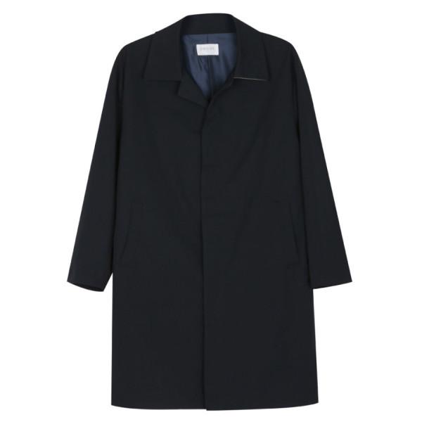 남성 국산 간절기 베이직 카라넥 트렌치 코트 MR-CTA-M4-네이비/ 파파브로 상품이미지