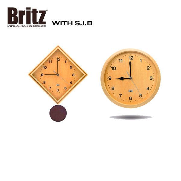 브리츠 BZ-C17W 아날로그 무소음 벽걸이 시계 +사은품 상품이미지