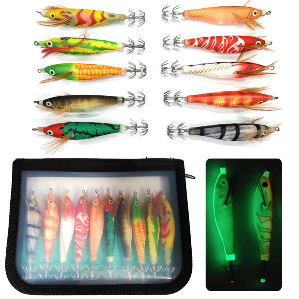 수평 갑오징어 전자 레이저 반짝이 애기 에기+케이스 상품이미지