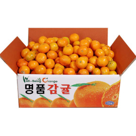 꿀맛 노지감귤 3kg 로얄소과(2S~M) 2개 구매시 7kg