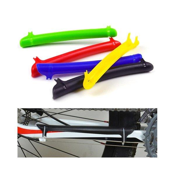 자전거 체인 마찰 소음 방지 프레임 가드 -레드 자전거 상품이미지
