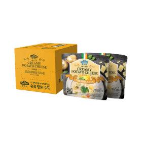 크리미 포테이토 치즈 수프 180g x 10봉