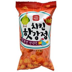 치킨 핫강정 37g/치킨스낵/닭다리스낵/과자/안주/간식
