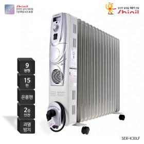라디에이터 온풍기능 사무실난방 동파방지 SER-K30LF