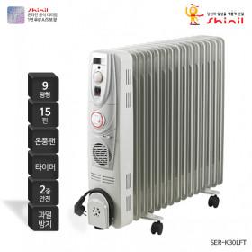 라디에이터 온풍기능 24 예약 사무실난방 SER-K30LFT