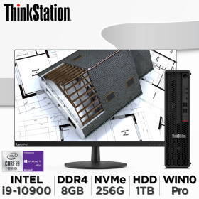 씽크스테이션 P340 SFF-30DKS01D00 i9-10900 8G 256G