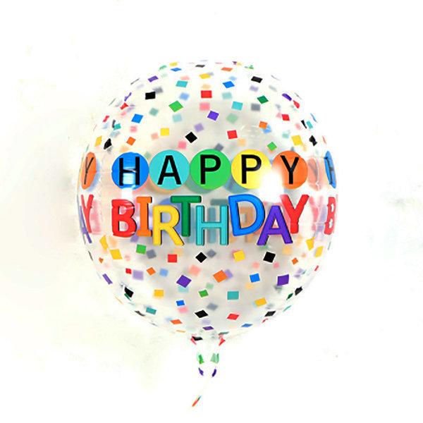 컨페티 생일풍선 데코 기념일 파티 생일 이벤트 용품 상품이미지
