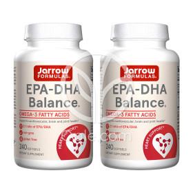 2개 Jarrow 오메가3 EPA DHA 밸런스 600 mg 240 소프트젤 빠른직구
