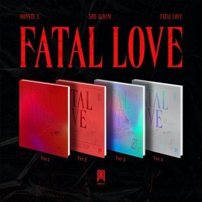 [MONSTA X] 3RD ALBUM FATAL LOVE (SET)
