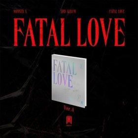 (ver.4) MONSTA X 3RD ALBUM FATAL LOVE (몬스타엑스 정규앨범 3집)  / (예약판매) 발매일 : 11월 03일