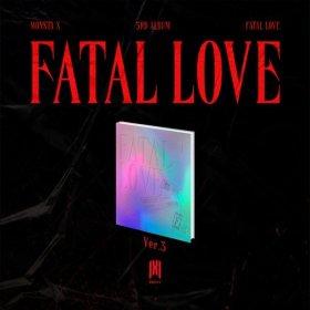 (ver.3) MONSTA X 3RD ALBUM FATAL LOVE (몬스타엑스 정규앨범 3집) / (예약판매) 발매일 : 11월 03일