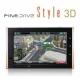 파인드라이브 Style 3D 8GB+3종(TPEG+SD카드리더기+DMB안테나) DMB 네비게이션 3D맵/아틀란 3D 상품이미지
