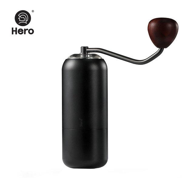 HERO 커피그라인더 핸드밀 S07 블랙 +갓볶은커피 200g 상품이미지