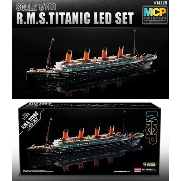 1/700 타이타닉 LED타이타닉 프라모델 TITANIC SHIP 상품이미지