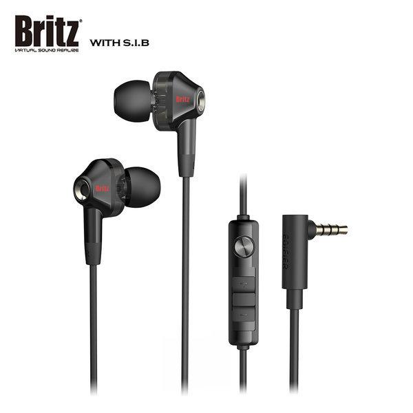 브리츠 BZ-EA30 게이밍 이어폰 듀얼 드라이버 블랙 상품이미지