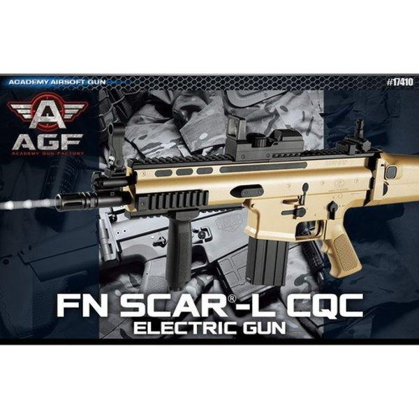 FN SCAR-L CQC 전동건(Tan) 장난감총 서바이벌 상품이미지