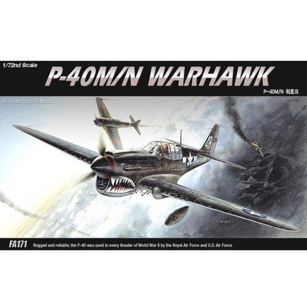 1/72 P-40M/N 워호크 전투기 비행기 밀리터리 모형 상품이미지