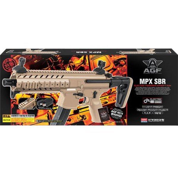 아카데미과학 MPX-SBR 전동건 서바이벌 모형 장난감총 상품이미지