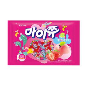 마이쮸 딸기+복숭아 720g /간식