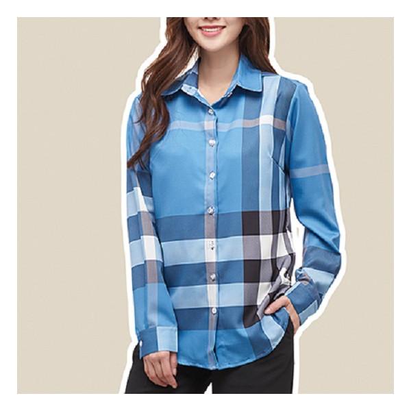 헬리꽁땡  블루 셔츠 상품이미지