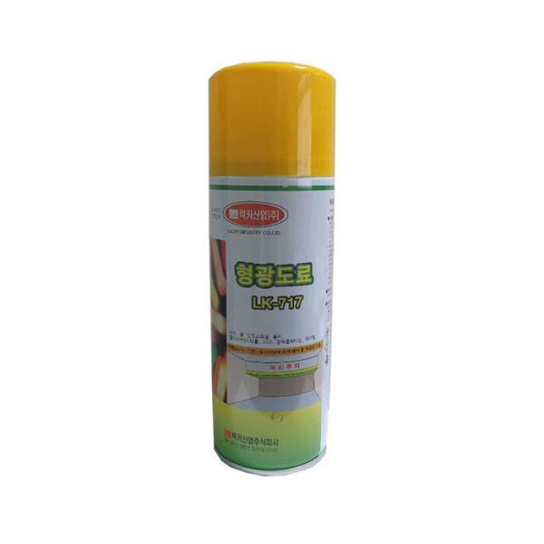 스프레이락카 형광락카 형광도료 (형광 황색) 1개 상품이미지