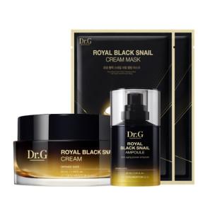 로얄 블랙 스네일 크림 50ml + 앰플 30ml 세트 + 증정