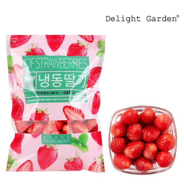 딜라잇가든 냉동 딸기(국내산) 1kg x 5 상품이미지