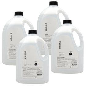 바른세탁소 액체세제 라임향 2.5L x 4개 세탁세제