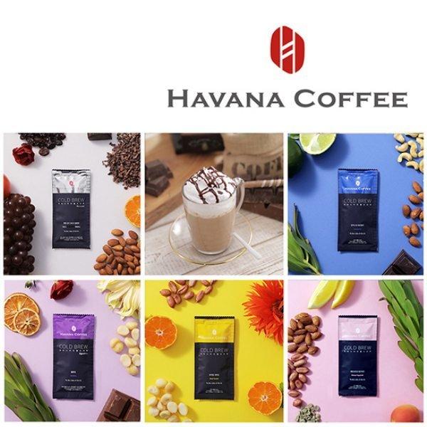 하바나 커피프리미엄 콜드브루 스페셜 5종세트(100개) 상품이미지