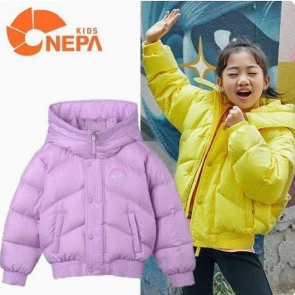(파주점) 네파키즈  미오 컬러 숏 구스다운 자켓 (KFF2006) 상품이미지