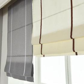 포인트 암막 로만쉐이드 창문 거실 블라인드  125x180