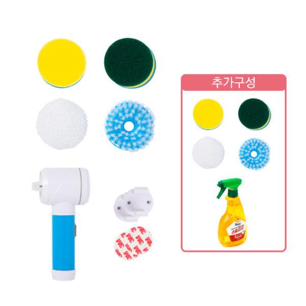 (총 13종) 청소혁명 청소왕 스윙고고 1세트 UNKM-BC-2019 원형헤드 스펀지헤드 광택 헤드 상품이미지