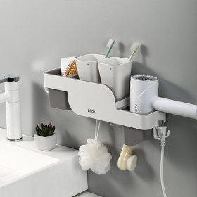 에프캣 드라이기 다용도 욕실선반