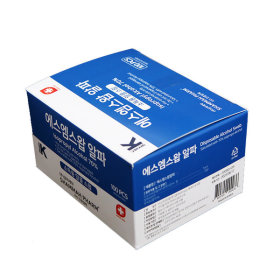 알콜스왑 에스엠스왑 알파 일회용알콜솜 100매 국산