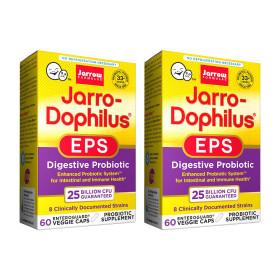 2개 Jarrow 도피러스 EPS 250억 유산균 60 베지캡슐 실온보관 프로바이오틱스 빠른직구