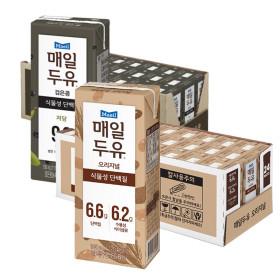 매일두유 식이섬유 24팩+ 검은콩 190mL 24팩