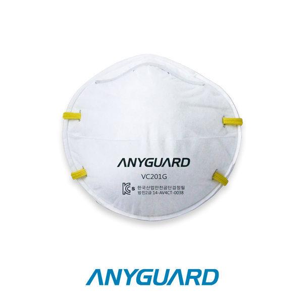 애니가드 2급 방진마스크 VC201G 20매입 산업용마스크 상품이미지