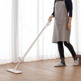 간편세척 스프레이 밀대 청소기 물분사 걸레 청소기