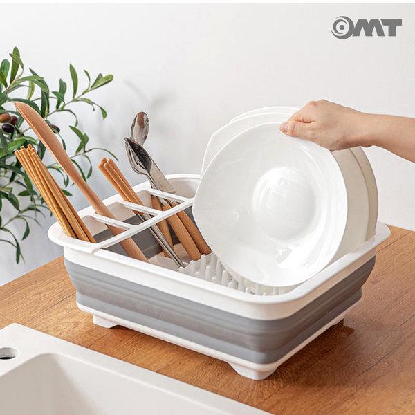 OMT 접이식 주방수납 휴대용 식기건조대 OKA-DS69 상품이미지