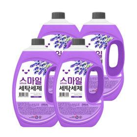 고농축 라벤더 액체세제 2.5L X 4개 세탁 총10000ml