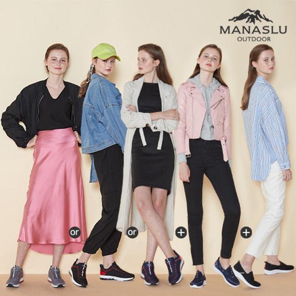 마나슬루 여성용 스타일 에어트레킹화 3종 상품이미지