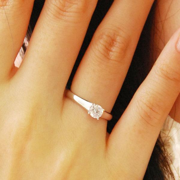 당일발송 예쁜 2부 프로포즈 선물용 다이아몬드 반지 상품이미지