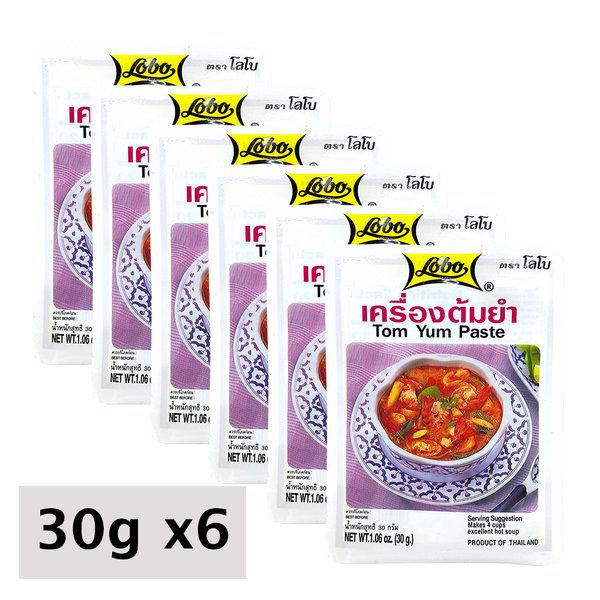 미국발송 로보 태국 똠양꿍 페이스트 1.06oz(30g) 6개 상품이미지