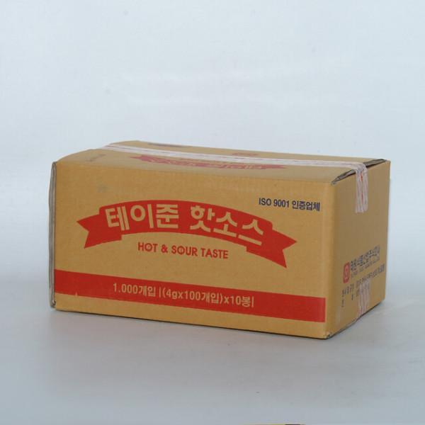 태원 1회용 핫소스 4g x 1000입 1박스 상품이미지