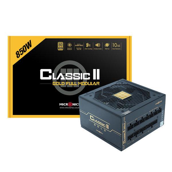 CLASSIC II Gold 850W FULL MODULAR 파워 서플라이 상품이미지