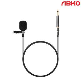 앱코 MP10 핀마이크 3.5mm단자 스마트폰 PC사용