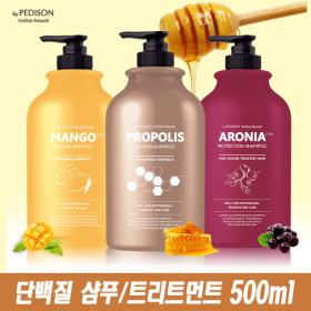 PROTEIN HONEY/MANGO Shampoo / Treatment / Rinse 500ml